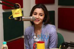 Alia Bhatt at Radio Mirchi for promotion of Highway