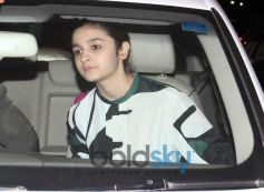 Alia Bhatt snapped at Highway Special Screening