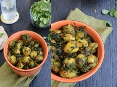 Aloo Methi Subji