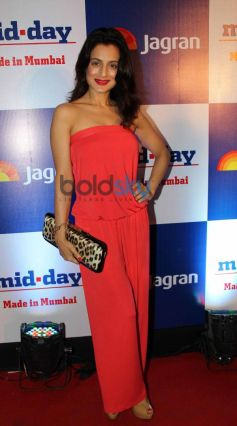Amisha Patel at Mid Day relaunch party