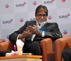 Amitabh Bachchan during Inauguration of Surya Child Care's Hospital