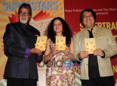 Amitabh Bachchan launches Priyanka Sinha's book