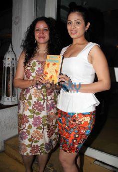 Anjana Sukhani and Priyanka Sinha during launch