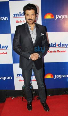 Anil Kapoor at Mid Day relaunch party