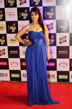 Anjana Sukhani at Mirchi Music Awards 2014