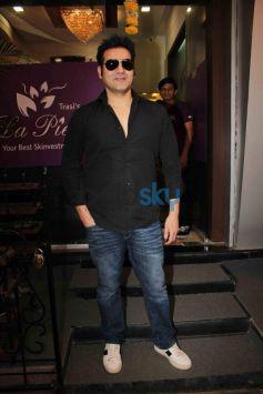 Arbaaz Khan at  skin Clinic La Piel launch