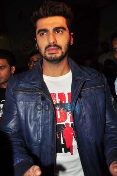 Arjun Kapoor at Gaiety Galaxy theatre for Gunday promotion
