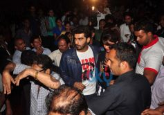 Arjun Kapoor at Gaiety Galaxy theatre