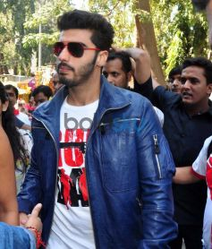 Arjun Kapoor snapped at Gaiety Galaxy theatre