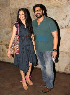 Arshad Warshi and Maria goretti at SKSE screening