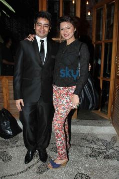 Ashika and Harsh at Harsh Gupta's summer collection showcase