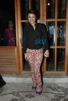Ashika at Harsh Gupta's summer collection showcase