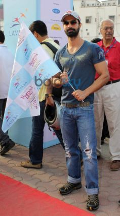 Ashmit Patel at Lavasa Women's Drive 2014