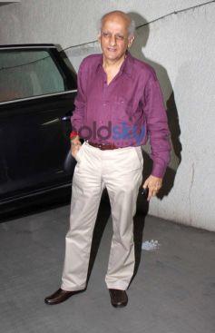 Ashok Bhatt at Shaadi Ke Side Effects screening