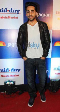 Ayushman Khurana at Mid Day relaunch party