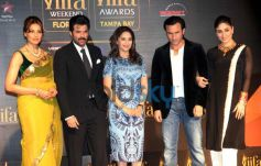 Bollywood celebs at IIFA press conference