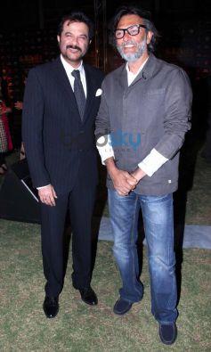 Anil Kapoor with Rakesh Omprakash Mehra at IIFA press conference