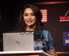 Madhuri Dixit during IIFA press conference