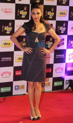 Swara Bhaskar stuns at Mirchi Music Awards 2014