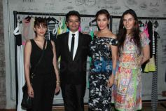 Celebs at Harsh Gupta's summer collection showcase