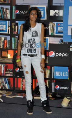 Celebs at Launch of Pepsi MTV Indies at Mehboob Studio