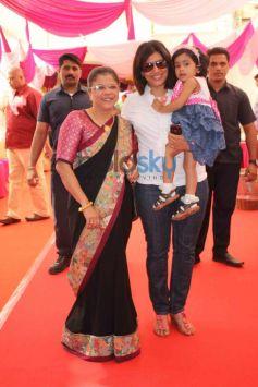 Celebs at skin Clinic La Piel launch