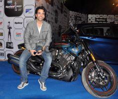 Celebs stuns duringTushar Kapoor on bike during Top Gear Awards Top Gear Awards