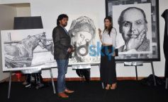 Celebs at Wajid Khan's Nail Art exhibition