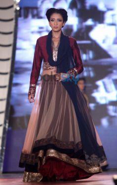 Model walk for Manish Malhotra Event