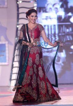 Madhuri Dixit Nene walk for Manish Malhotra Event