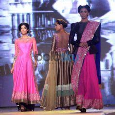 Models walk during Manish Malhotra Event