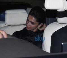 Deepika Padukone during Gunday Special Screening