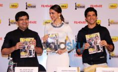 Deepika Padukone  & Farhan Akhtar at Filmfare cover page launch