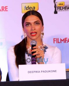 Deepika Padukone at Filmfare cover page launch