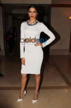 Deepika Padukone snapped during Filmfare cover page launch