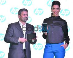 Deepika Padukone at the launch of new HP Slate VoiceTab