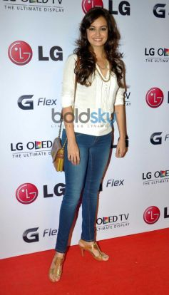 Dia Mirza during Atul kasbekar's photo Exhibition