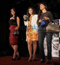 Elli Avram,Babita Malkani and Manali Jagtap at National College Festival 2014