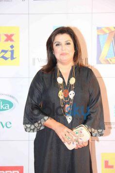 Farha Khan at Zee Cine Awards 2014