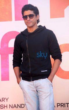 Farhan Akhtar during SKSE Promotion