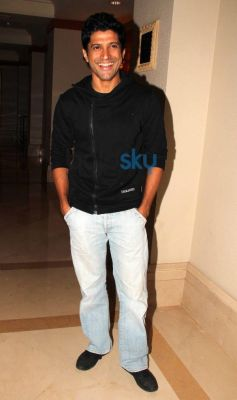 Farhan Akhtar at Filmfare cover page launch