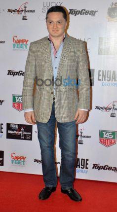 Gautam Singhania during Top Gear Awards