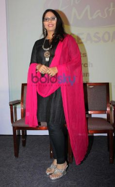 Geeta Kapoor at Press Meet of zee tv's DID Liltle Masters