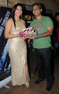 Gurpreet Kaur Chadha with Nasirr Khan during event