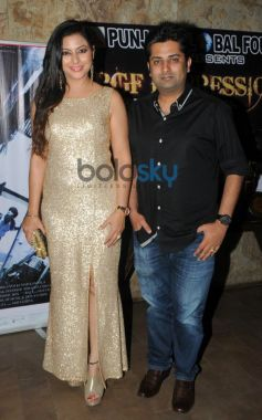 Gurpreet Kaur Chadha with Sumeet Tappoo during event