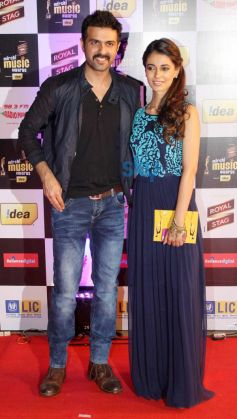 Harman Baweja at Mirchi Music Awards 2014