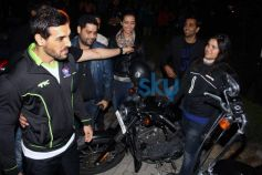 John Abraham at Hero Hockey India League