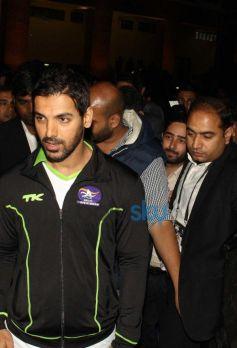 John Abraham at Hero Hockey India League