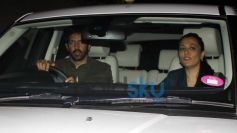 Kabir Khan and Mini Mathur at Gunday Special Screening