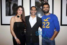 Kainaat Arora, Ashmit Patel and Vikram Bawa during launch